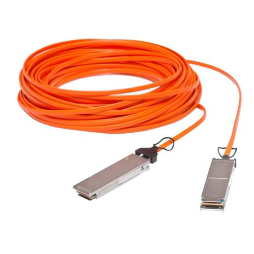 QSFP-H40G-AOC3M Cisco Compatible QSFP AOC Cable 3 Meters