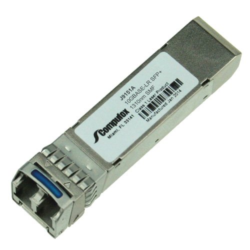 Compatible with HP X132 10G SFP LC LR Transceiver J9151A