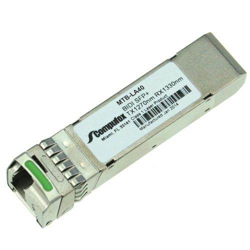Planet Compatible 10GBASE-WDM SFP TX:1270nm RX:1330nm 40km SMF transceiver MTB-LA40